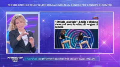 Record storico delle veline Shaila e Mikaela