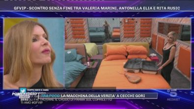 GFVIP - Scontro senza fine tra Valeria Marini, Antonella Elia e Rita Rusic
