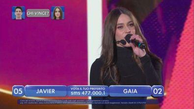 """Gaia canta """"Fucsia"""" - La finalissima"""