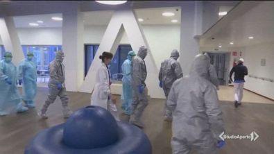 Bergamo, la delegazione di operatori sanitari arrivati dalla Russia è già a lavoro