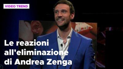 Andrea Zenga eliminato dal GF Vip, le reazioni dei social