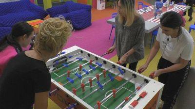 Calcio balilla al femminile