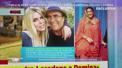 Al Bano: ''Come regalo vorrei la pace tra Loredana Lecciso e Romina''