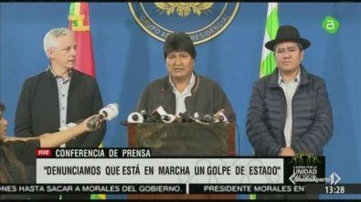 Caos Bolivia, la polizia in rivolta