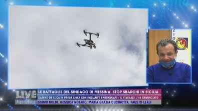 Droni per tenere le persone in casa