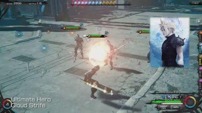 Cloud in Mobius Final Fantasy