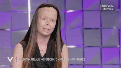 Valentina Pitzalis, la forza del perdono