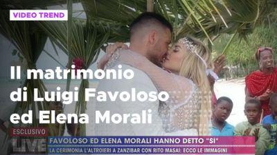 Il matrimonio di Luigi Favoloso ed Elena Morali