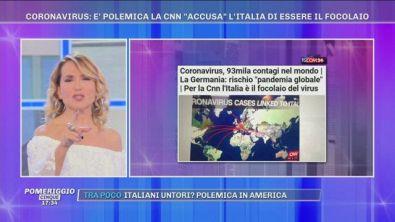 Coronavirus: la CNN accusa l'Italia di essere il focolaio