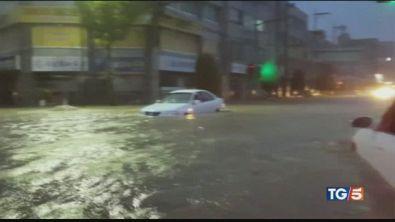 Tifone sul Giappone. E lo sport va in tilt
