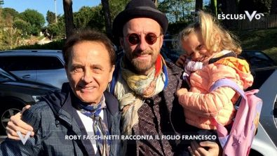 L'emozione di Francesco Facchinetti