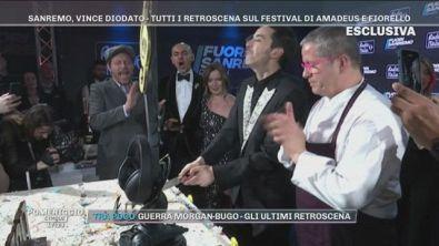 Sanremo: La festa per il vincitore Diodato