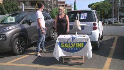 Scuola, Salvini boccia la Azzolina Raccolta di firme per sfiduciarla