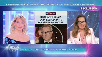 L'amicizia tra Cesara Buonamici e Lamberto Sposini
