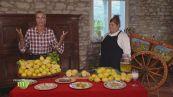 Il succo di limone in cucina