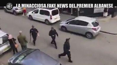 Coronavirus, il fake del primo ministro albanese: polizia con il manganello in Spagna?