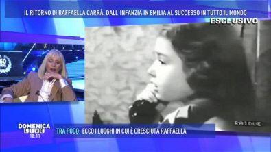 Il debutto di Raffaella