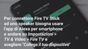 Come usare Alexa con Amazon Fire TV Stick