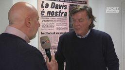 "Panatta: ""Sinner porterà avanti il tennis italiano"""