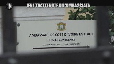 Filippo Roma e l'operatore: trattenuti nell'ambasciata della Costa d'Avorio