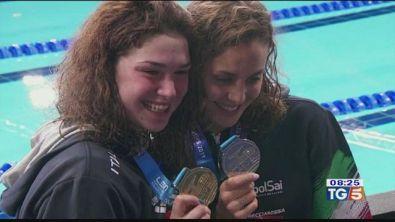 Europei: oro e argento alle ragazze del nuoto