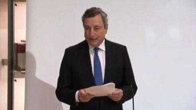 Draghi: abbiamo il dovere di avviare riforme per la crescita