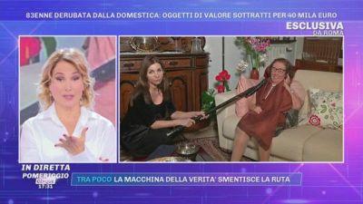 Roma: 83enne derubata dalla domestica