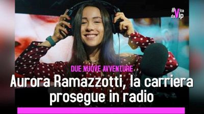 Aurora Ramazzotti, la carriera prosegue in radio