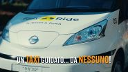 Dal 2020 andremo in taxi... senza guidatore