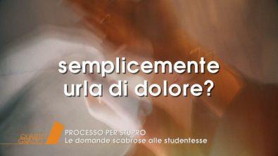 Firenze: Processo per stupro