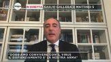 Giulio Gallera a Mattino 5