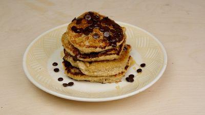Ricetta per pancakes alla banana