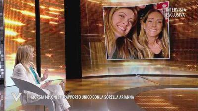 Giorgia Meloni e il rapporto unico con la sorella