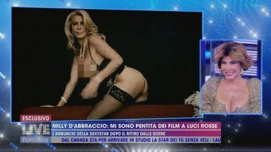 La sexystar Milly D'Abbraccio lascia le scene