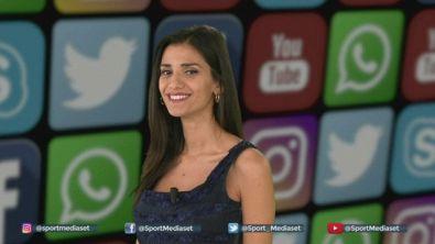 Social Sportmediaset: Nainggolan sgambetta Cerri, Immobile scatenato con Jessica