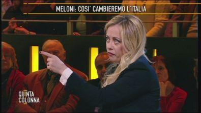 Giorgia Meloni e il lavoro