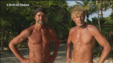Stefano Bettarini e Kaspar Capparoni di nuovo sull'Isola che non c'è