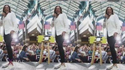 Kamala Harris, la nuova icona a Stelle e Strisce