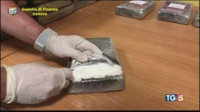 500 chili di cocaina nel porto di Genova