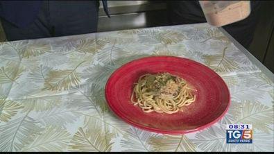 Gusto Verde: spaghettini al pesto vietrese