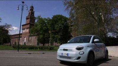 A Milano arrivano le 500 elettriche di LeasysGO!