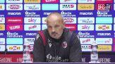 """Mihajlovic: """"Sono arrabbiato per la Coppa Italia"""""""