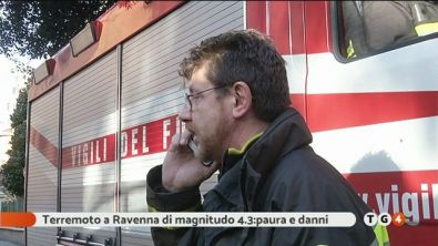 Terremoto a Ravenna