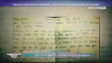 Morte Maria Paola Gaglione, la lettera del fratello
