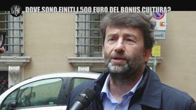 CORTI e ONNIS: Dove sono finiti i 500 euro del bonus cultura?