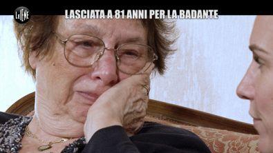 RUGGERI: Storia di Gianna: lasciata a 81 per la badante, di 30 anni più giovane