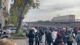 Green pass, Trieste: polizia spara lacrimogeni