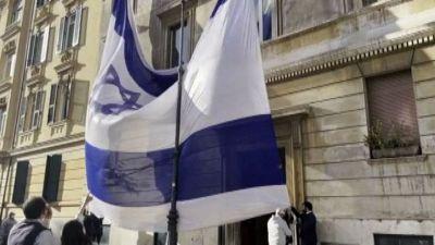 A Roma la manifestazione della comunità ebraica per Israele