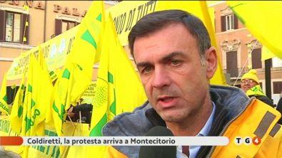 Protesta a Montecitorio