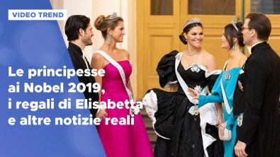 Le principesse ai Nobel 2019 e altre news reali